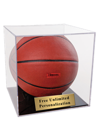 Basketball Ball Display Case