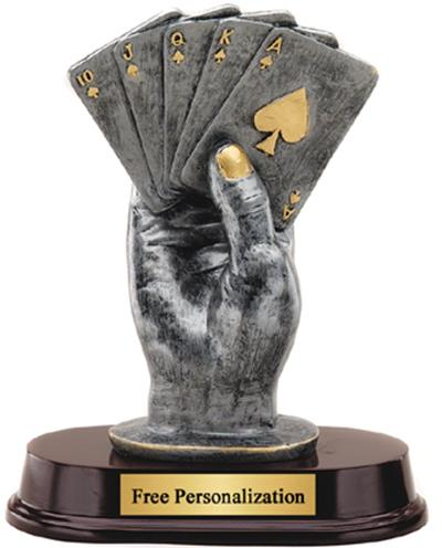 Hand of Cards Trophy