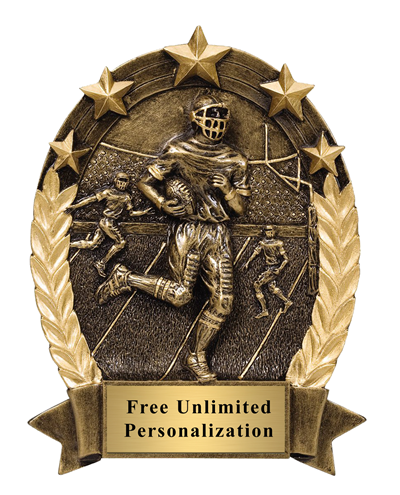 Five Star Oval Football Trophy