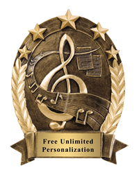 Five Star Oval Music Award