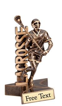 SuperStar Lacrosse Trophy - Male
