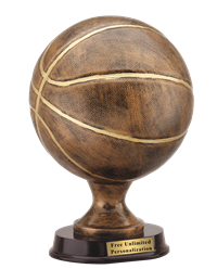 Basketball Sculpture Trophy