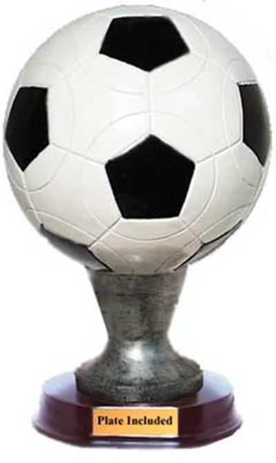 Soccer Ball Sculpture Trophy