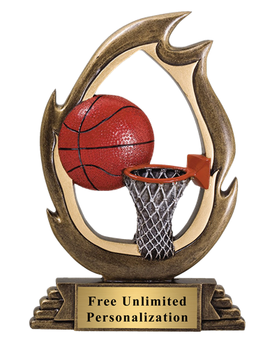 Flame Basketball Award