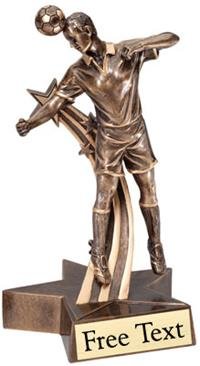 SuperStar Soccer Trophy - Male