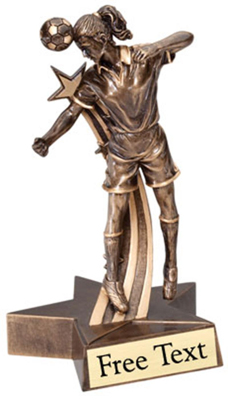 SuperStar Soccer Trophy - Female