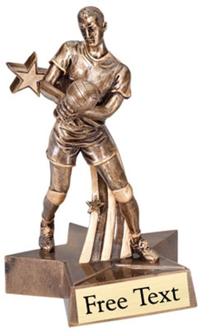 SuperStar Volleyball Trophy - Male