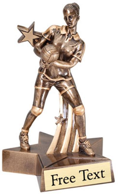 SuperStar Volleyball Trophy - Female