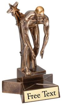 SuperStar Swimming Trophy - Male