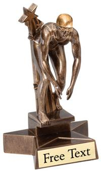 SuperStar Swimming Trophy - Female