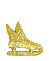 Sports Chenille Pin - Ice Skate