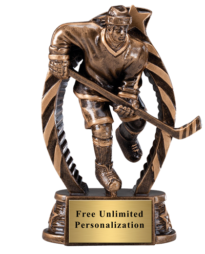 Running Star Hockey Female Trophy