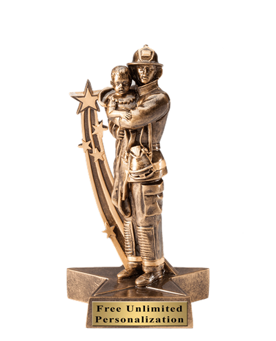Firefighter With Child Award