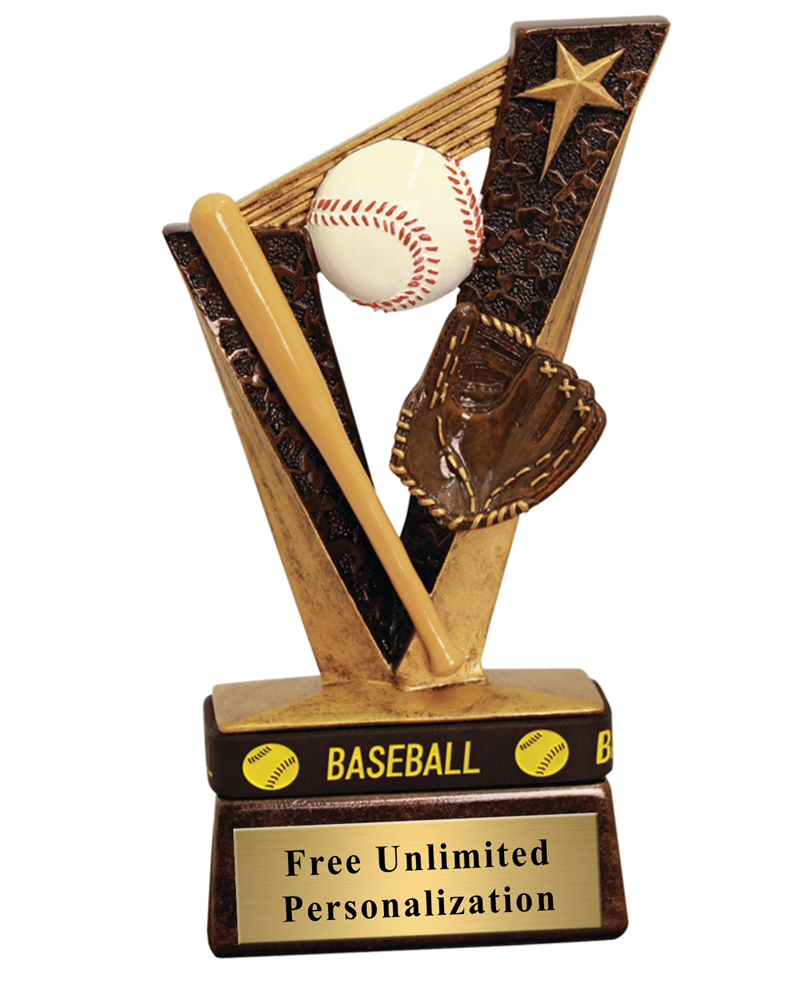 Victory Baseball Wrist Band Trophy