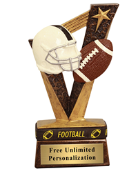 Victory Football Wrist Band Trophy