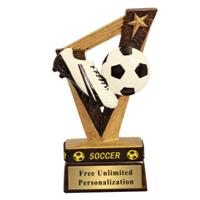 Victory Soccer Wrist Band Trophy