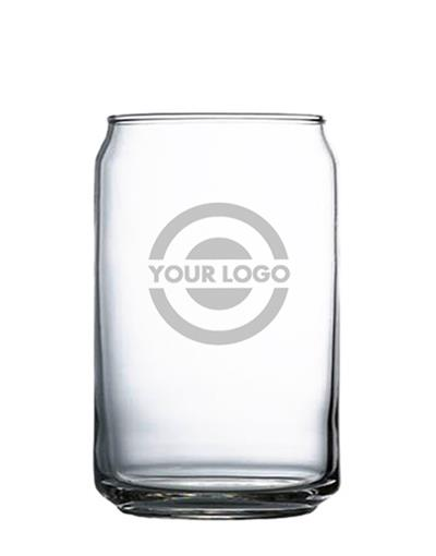 Beer Can Pint Glass