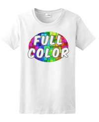 Full Color Ultra Cotton Ladies T-Shirt