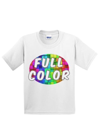 Full Color Ultra Cotton Youth T-Shirt