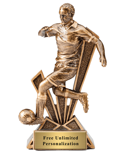 CheckMate Soccer Trophy - Male