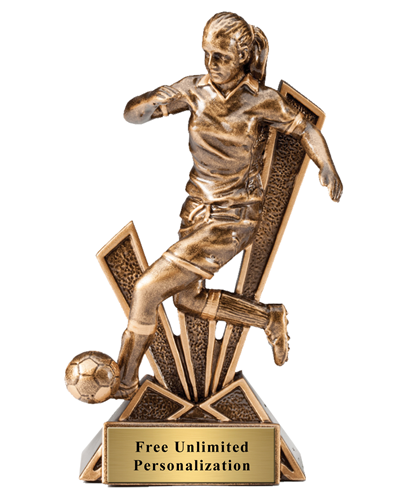 CheckMate Soccer Trophy - Female