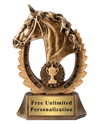 Horse Wreath Cup Trophy