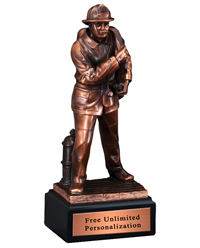 Fireman Hero Sculpture Award