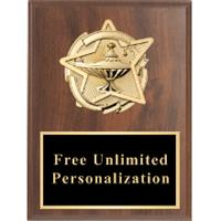 Gold Star Standout Plaque