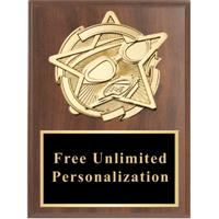 Gold Star Swimming Standout Plaque