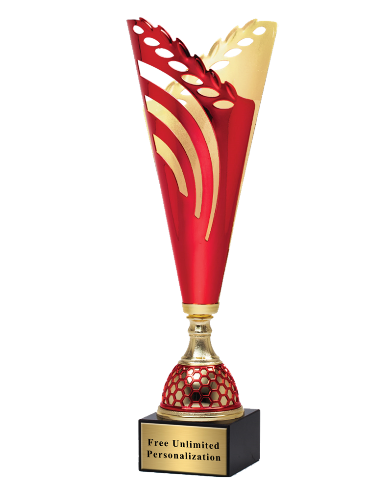 Red And Gold Victory Cup