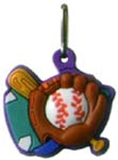Baseball Zipper Pull