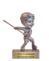 Hockey Rockin' Bobblehead Trophy - Male