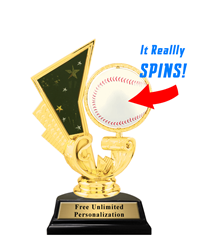 Spinner Baseball Trophy