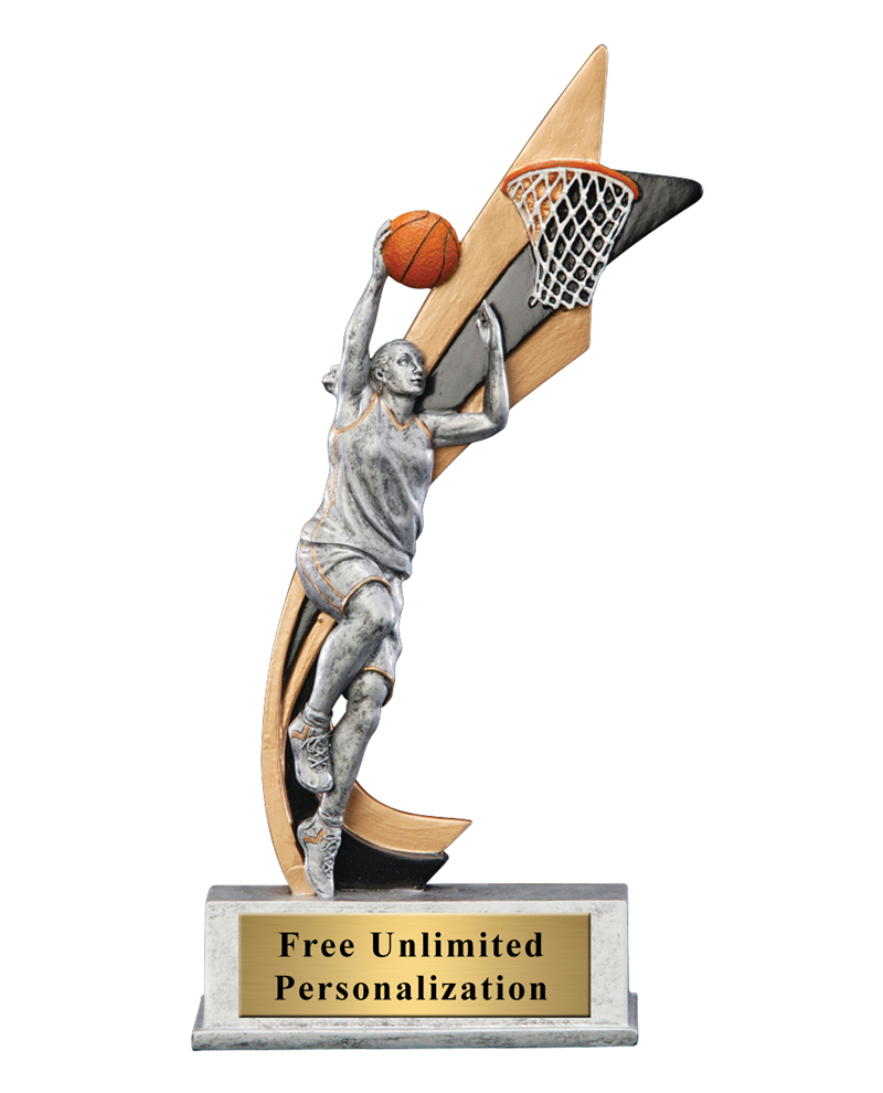 Live Action Basketball Trophy - Female