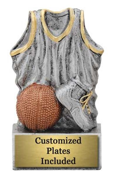 Uniform Basketball Trophy