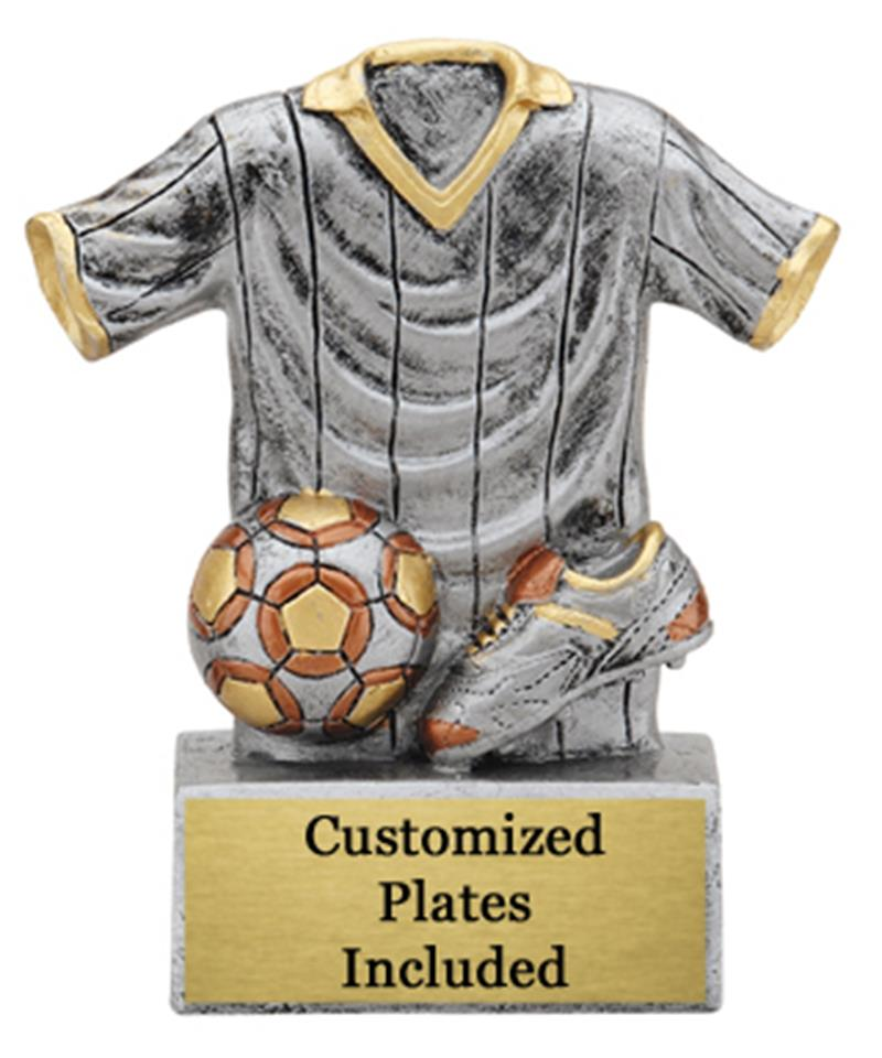 Uniform Soccer Trophy