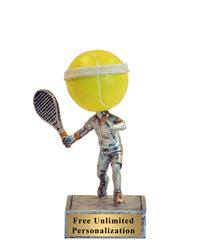 Tennis Bobblehead Trophy