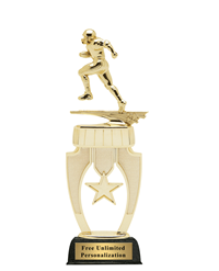 Star Riser Football Trophy