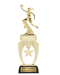 Star Riser Basketball Trophy - Female