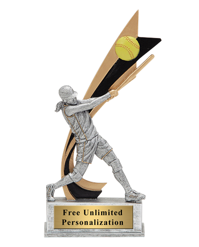 Live Action Softball Trophy - Female