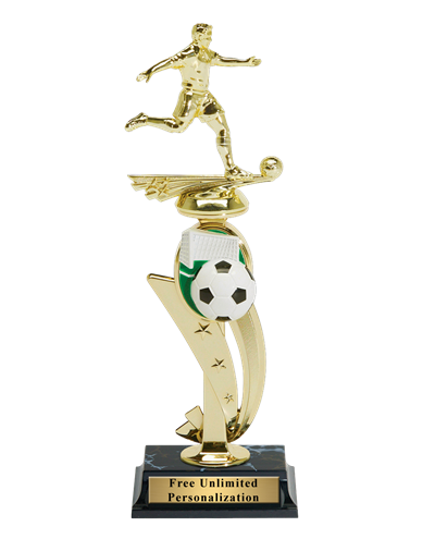 Color Scene Soccer Trophy - Male