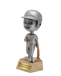 Bobblehead Baseball/Softball Trophy - Male