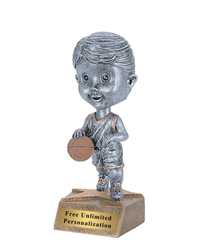 Bobblehead Basketball Trophy - Female