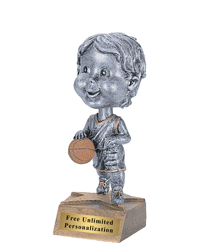 Bobblehead Basketball Trophy - Male