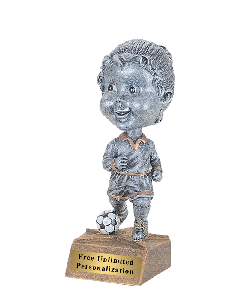 Bobblehead Soccer Trophy - Female