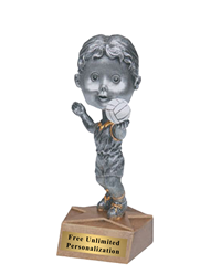 Bobblehead Volleyball Trophy - Female
