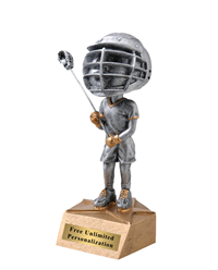Bobblehead Lacrosse Trophy - Male