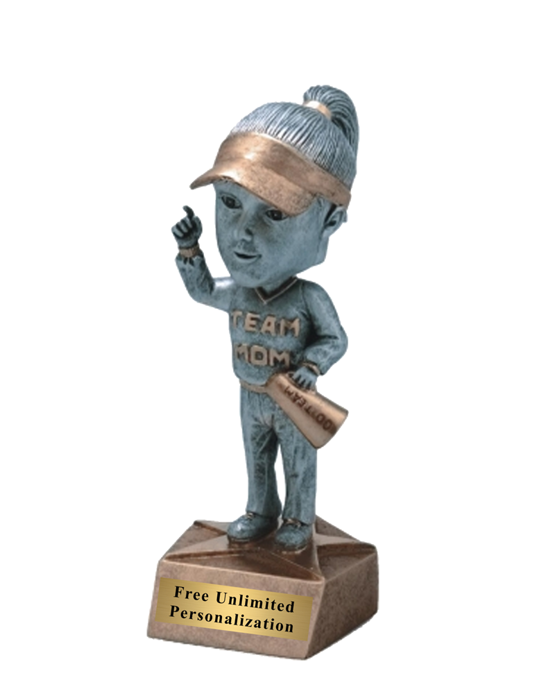 Team Mom Bobblehead Trophy