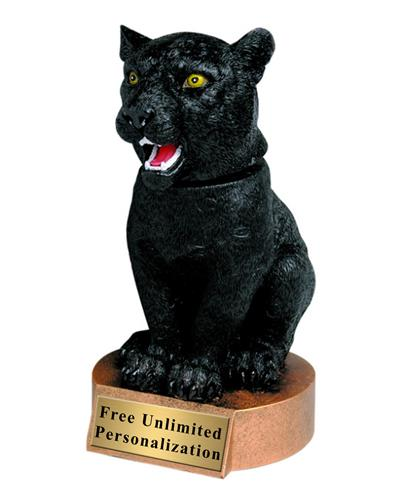 Panther Bobblehead Mascot Trophy