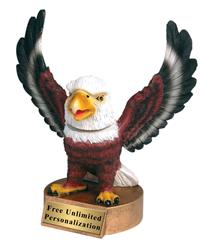 Eagle Bobblehead Mascot Trophy